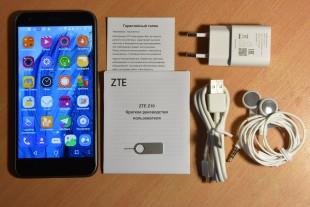 Комплектация ZTE Blade Z10