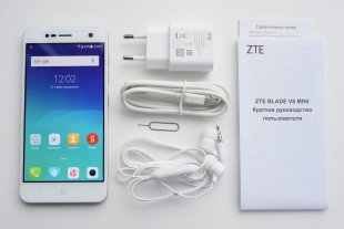 Комплектация смартфона ZTE Blade V8 Mini