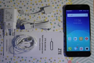 Комплектация телефона ZTE Blade A6