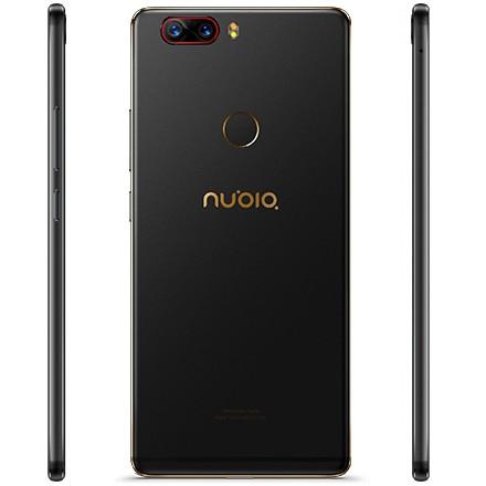 Nubia Z17 цвета черное золото